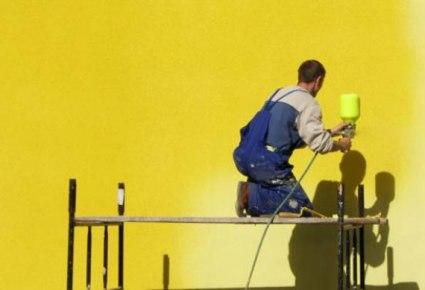 Покраска фасада любого вида в Екатеринбурге