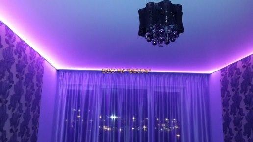 Парящие натяжные потолки: особенности конструкции и установки