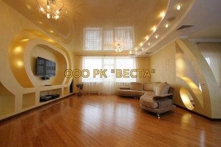 Сколько стоит натяжной потолок в квартиру, коттедж, офис